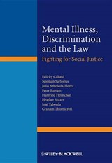Mental Illness, Discrimination and the Law | Felicity Callard |
