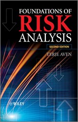 Foundations of Risk Analysis | Terje Aven |