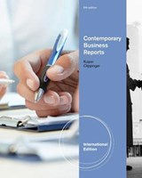 Contemporary Business Reports, International Edition | Dorinda A. Clippinger; Shirley Kuiper |