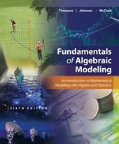 Fundamentals of Algebraic Modeling