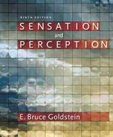 Sensation and Perception (with CourseMate Printed Access Car | E. Bruce Goldstein |