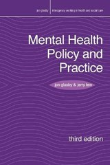 Mental Health Policy and Practice | Jon Glasby |