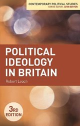 Political Ideology in Britain | Robert Leach |