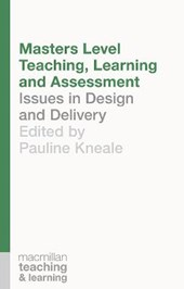 Masters Level Teaching, Learning and Assessment |  |