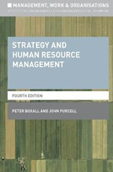 Strategy and Human Resource Management | Peter Boxall |
