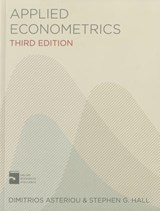 Applied Econometrics | Dimitrios Asteriou |