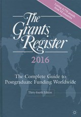 The Grants Register |  |