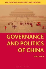 Governance and Politics of China | Tony Saich |
