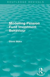 Modelling Pension Fund Investment Behaviour