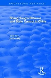 Shang Yang's Reforms and State Control in China 1977