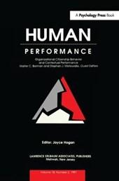 Organizational Citizenship Behavior and Contextual Performance