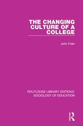 The Changing Culture of a College