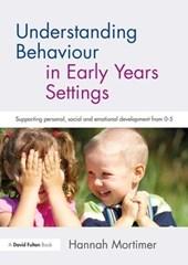 Understanding Behaviour in Early Years Settings
