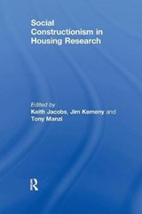 Social Constructionism in Housing Research | Jim Kemeny |