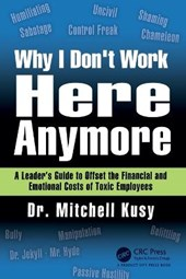 Why I Don't Work Here Anymore | Mitchell Kusy |