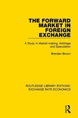 The Forward Market in Foreign Exchange | Brendan Brown |