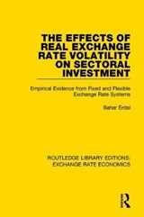 The Effects of Real Exchange Rate Volatility on Sectoral Investment | Bahar Erdal |