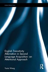 English Transitivity Alternation in Second Language Acquisition | Yuxia Wang |