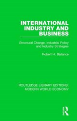 International Industry and Business | Robert H. Ballance |