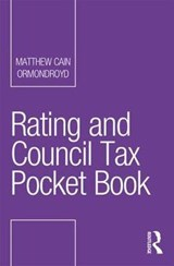 Rating and Council Tax Pocket Book | Matthew Cain Ormondroyd |