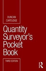 Quantity Surveyor's Pocket Book | Duncan Cartlidge |