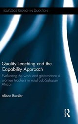 Quality Teaching and the Capability Approach | Alison Buckler |