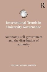 International Trends in University Governance | auteur onbekend |