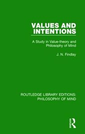 Values and Intentions | J. N. Findlay |