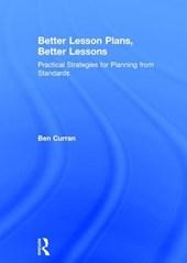 Better Lesson Plans, Better Lessons