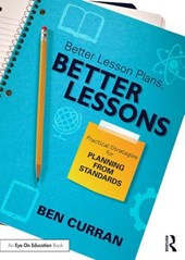 Better Lesson Plans, Better Lessons