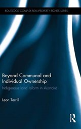 Beyond Communal and Individual Ownership | Leon Terrill |