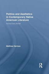 Politics and Aesthetics in Contemporary Native American Literature | Matthew D. Herman |