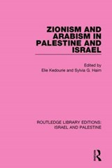 Zionism and Arabism in Palestine and Israel |  |