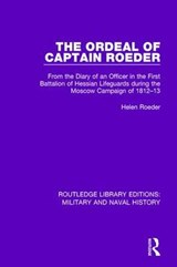 The Ordeal of Captain Roeder | Helen Roeder |