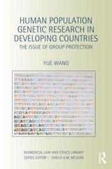 Human Population Genetic Research in Developing Countries | Yue Wang |