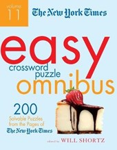 The New York Times Easy Crossword Puzzle Omnibus, Volume