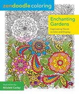 Enchanting Gardens Adult Coloring Book | Nikolett Corly |