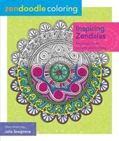 Inspiring Zendalas Adult Coloring Book |  |