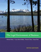 The Legal Environment of Business | Michael Bixby |