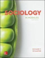 Sociology in Modules | Richard T. Schaefer |