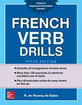 French Verb Drills, Fifth Edition | R. De Roussy De Sales |
