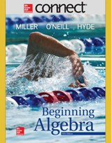Connect Math Hosted by Aleks Access Card 52 Weeks for Beginning Algebra | Julie Miller |