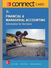 Financial & Managerial Accounting Connect Access Card