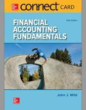 Financial Accounting Fundamentals Connect Access Card