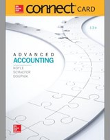 Connect Access Card for Advanced Accounting | Joe Ben Hoyle |