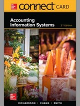 Accounting Information Systems Connect Access Code | Richardson, Vernon ; Chang, Chengyee ; Smith, Rod |