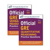 Official GRE Quantitative Reasoning Practice Questions + Official GRE Verbal Reasoning Practice Questions