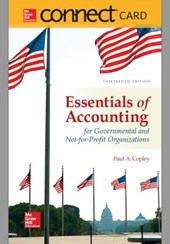 Essentials of Accounting of Govenmental and Not-for-Profit Organizations Connect Access Code