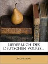 Liederbuch des deutschen Volkes.