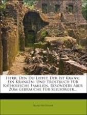Herr, den du Liebst, der ist Krank: Ein Kranken- und Trostbuch für Katholische Familien, Besonders aber zum Gebrauche für Seelsorger...